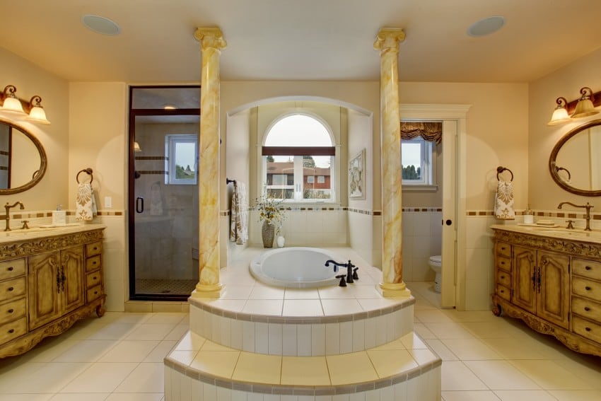 Bathroom design ideas image gallery epic home ideas for Large luxury bathrooms